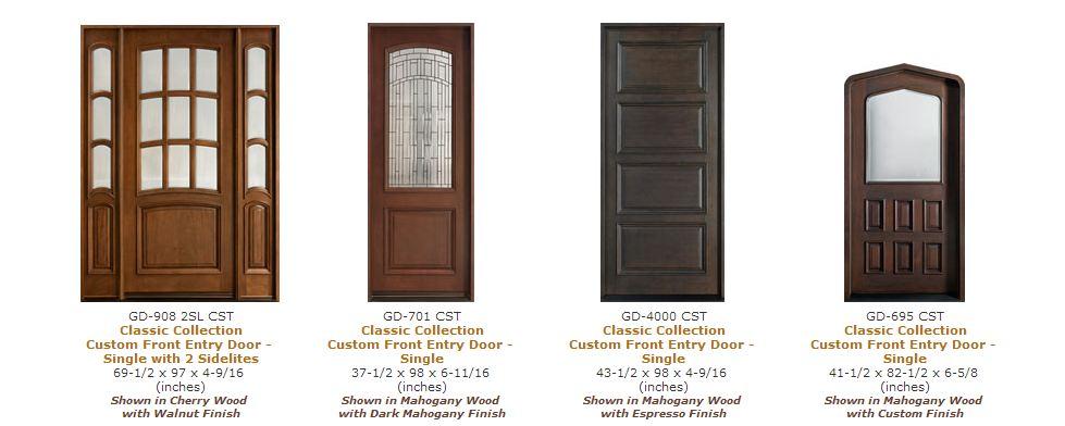 doors nj ny custom doors nj ny entry doors nj ny front doors